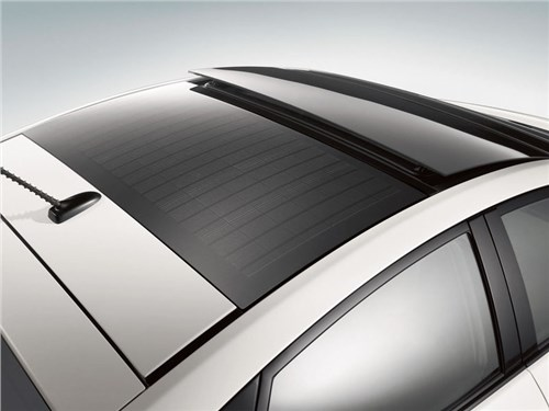 Новое поколение Toyota Prius будет заправляться солнечной энергией