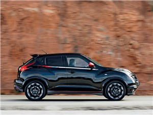 Врожденная оригинальность Juke - Nissan Juke Nismo 2013 вид сбоку
