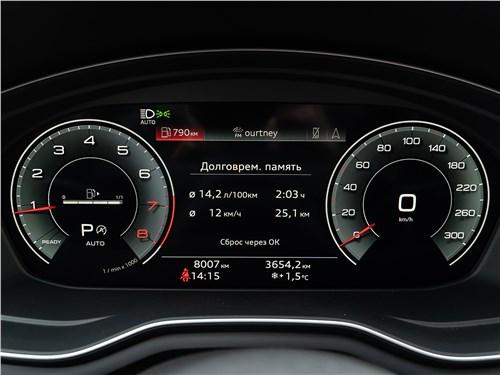 Audi A4 (2020) приборная панель