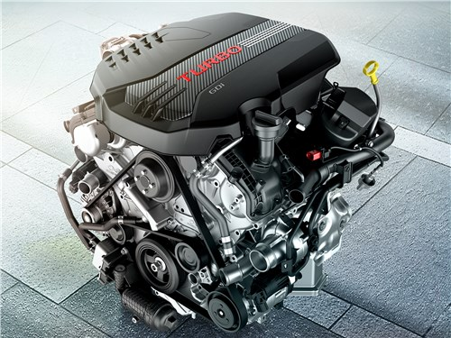 Kia Stinger 2017 двигатель