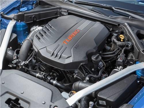Предпросмотр kia stinger 2017 двигатель