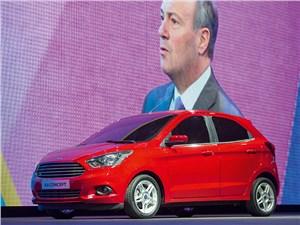 Предпросмотр ford ka concept 2013 вид сбоку спереди