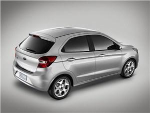 Предпросмотр ford ka concept 2013 вид сзади сверху