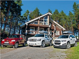Chevrolet Niva - экспедиция на русский север