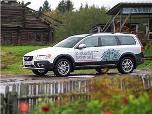 На Volvo 2014 по Карелии