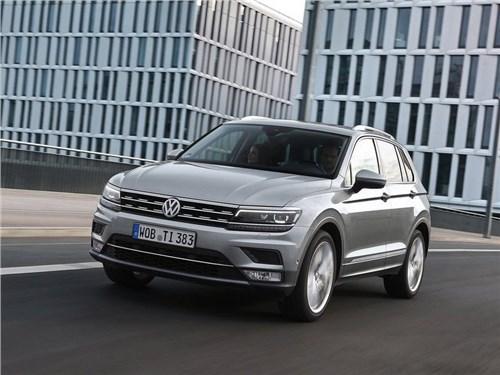 Volkswagen опубликовал российские цены нового Tiguan