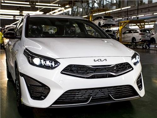 В Калининграде началось производство обновленного Kia Ceed