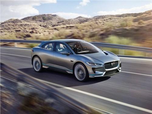 Новость про Jaguar - Jaguar привез в Лос-Анджелес свой первый электрокроссовер