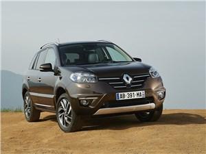 Новый Renault Koleos - Renault Koleos 2014 вид спереди