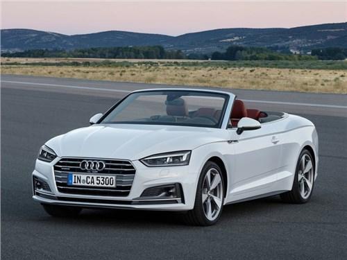 Новость про Audi A5 - Audi представила новое поколение кабриолетов A5 и S5