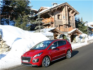 Peugeot 3008 - автопутешествие. куршевель