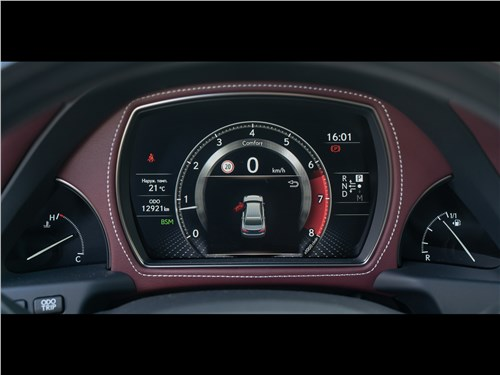 Lexus LS 500 AWD Luxury+ 2018 приборная панель
