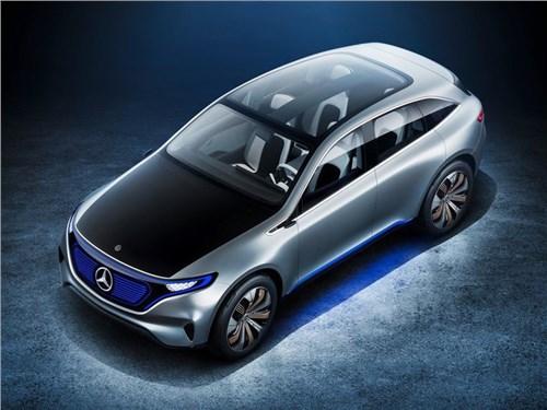 Новость про Mercedes-Benz - Mercedes-Benz планирует наладить серийное производство электрокаров в Китае