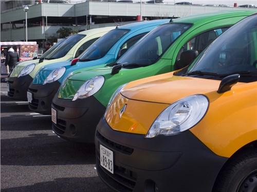 Новость про Renault Kangoo - Renault сокращает модельный ряд LCV в России