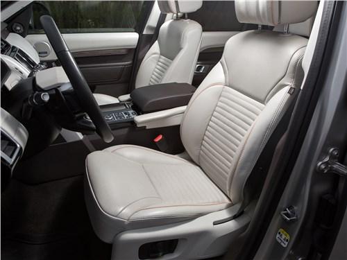 Land Rover Discovery 2017 передние кресла