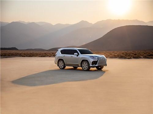 Новость про Lexus LX - Новый Lexus LX представлен официально