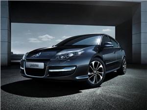 Новый Renault Laguna - Renault Laguna 2013 вид спереди