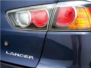 Mitsubishi Lancer 2009 задняя фонарь