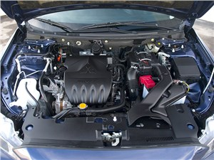 Mitsubishi Lancer 2009 двигатель