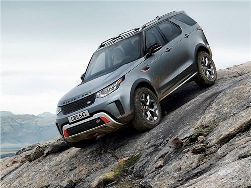 Land Rover представил экстремальный Discovery