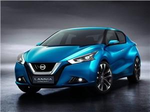 Nissan Lannia concept 2014 Европа и Азия