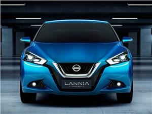 Предпросмотр nissan lannia concept 2014 фронт