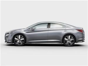 Subaru Legacy concept 2013 вид сбоку