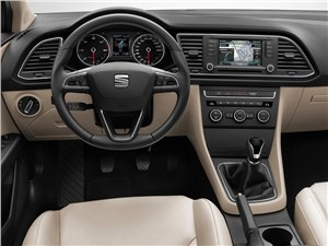 Предпросмотр seat leon st 2014 водительское место