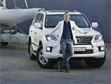 Новость про Lexus LX - Степан Михалков - посл Lexus в России
