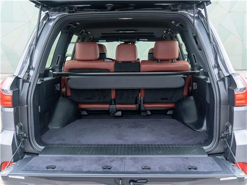 Предпросмотр lexus lx 570 2016 багажное отделение