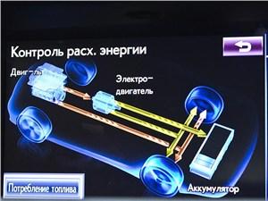 Предпросмотр lexus gs450h 2012 дисплей