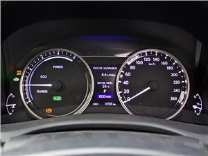 Предпросмотр lexus gs450h 2012 приборная панель