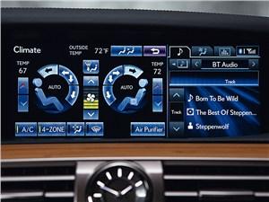 Lexus LS 600h L 2012 монитор компьютера