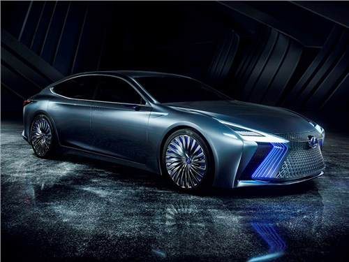 Lexus LS получил версию с автопилотом