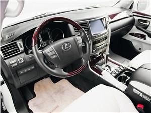 Lexus LX 570 Tolex Tuning 2012 водительское место
