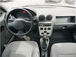 Renault Logan водительское место