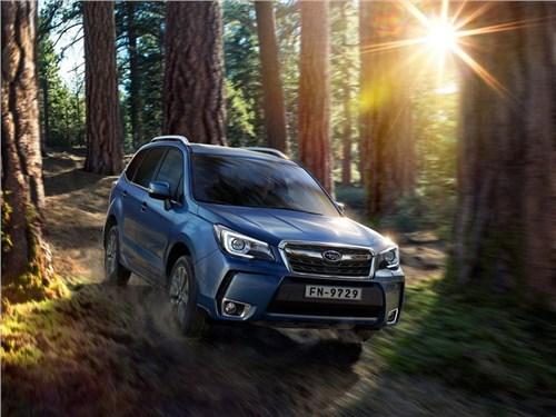 Новость про Subaru Forester - Subaru озвучил стоимость обновленного Forester для российского рынка