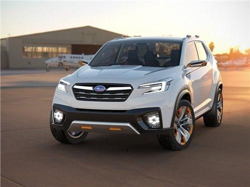 Subaru планирует выпустить новый электрический кроссовер