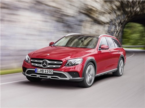 Новый Mercedes-Benz E-Class All-Terrain - Mercedes-Benz E-Klasse All-Terrain 2017 Догнать и обогнать!