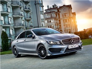 Mercedes-Benz CLA - mercedes-benz cla 200 2013 вид спереди
