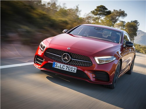 Mercedes-Benz CLS-Class - спортивное настроение: mercedes-benz cls 2019