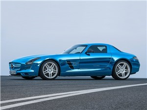 Предпросмотр mercedes-benz sls amg coupe electric drive 2013 вид сбоку