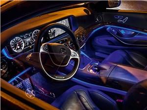 Mercedes-Benz S 500 2013 интерьер