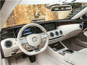 Предпросмотр mercedes-benz s-klasse coupe 2014 салон