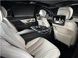 Mercedes-Benz S 500 2013 задние кресла