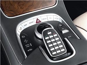 Mercedes-Benz S 500 2013 пульт управления