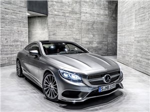 Предпросмотр mercedes-benz s-klasse coupe 2014 вид спереди фото 2