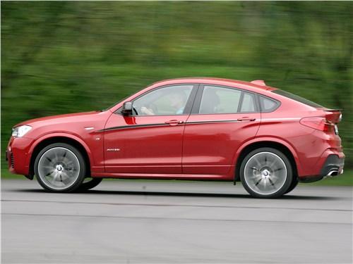 BMW X4 xDrive35i 2014 вид сбоку