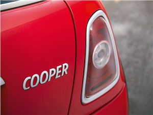 Mini Cooper 2007 задний фонарь
