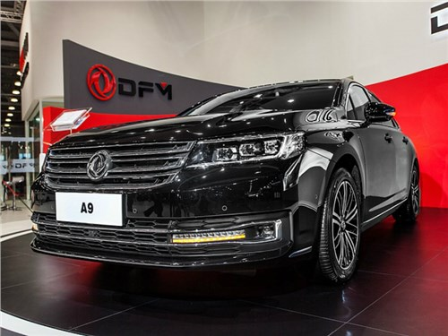 Dongfeng привез в Москву новый седан A9